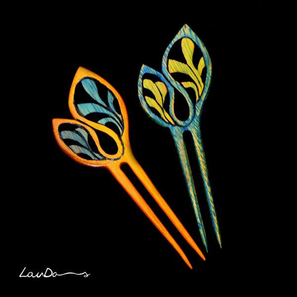 Peineta Floral - P003
